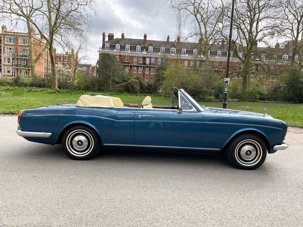 1976 Rolls-Royce Corniche 1A DHC with 11.000 miles only For Sale (picture 2 of 24)
