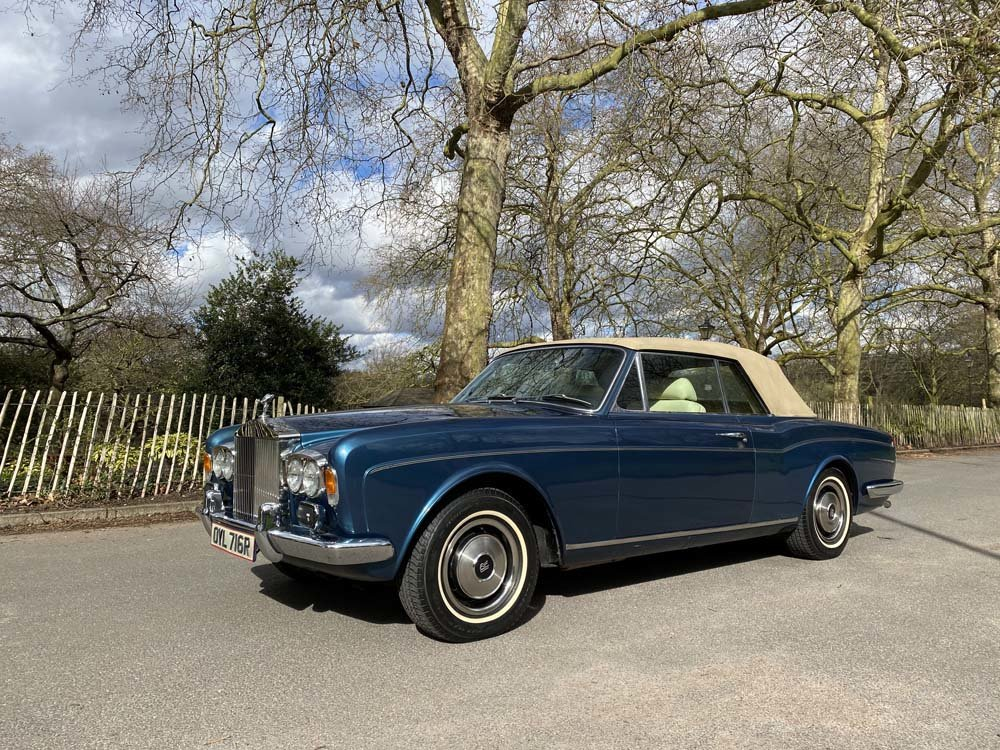 1976 Rolls-Royce Corniche 1A DHC with 11.000 miles only For Sale (picture 5 of 24)