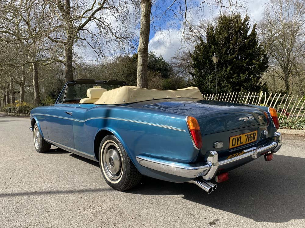 1976 Rolls-Royce Corniche 1A DHC with 11.000 miles only For Sale (picture 7 of 24)