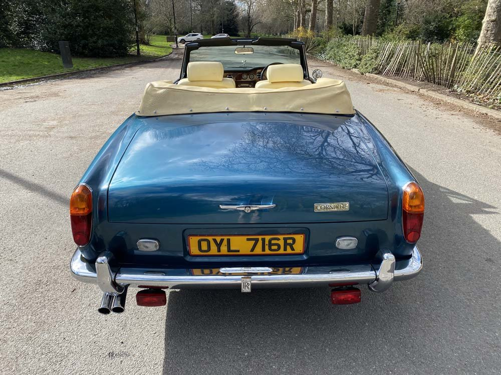 1976 Rolls-Royce Corniche 1A DHC with 11.000 miles only For Sale (picture 9 of 24)
