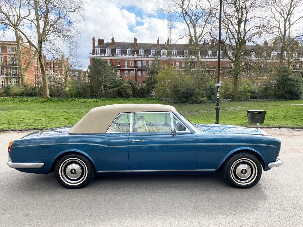 1976 Rolls-Royce Corniche 1A DHC with 11.000 miles only For Sale (picture 11 of 24)