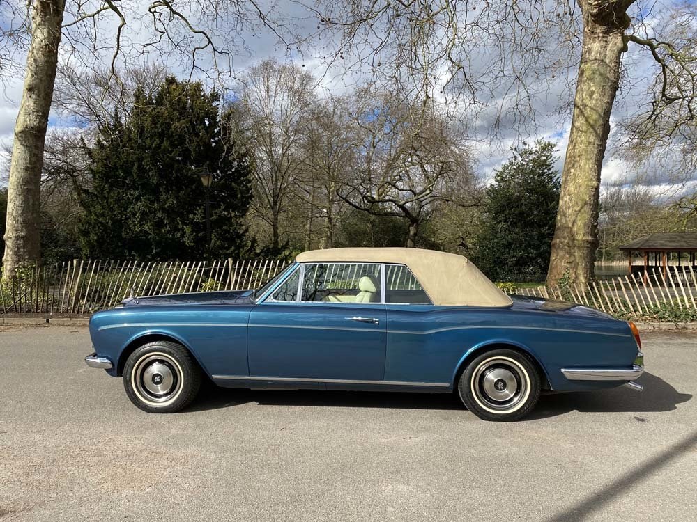 1976 Rolls-Royce Corniche 1A DHC with 11.000 miles only For Sale (picture 12 of 24)