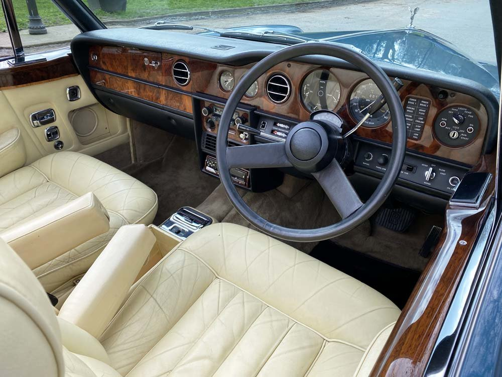 1976 Rolls-Royce Corniche 1A DHC with 11.000 miles only For Sale (picture 23 of 24)