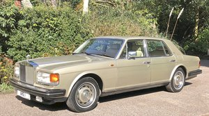 1984 ROLLS ROYCE SILVER SPIRIT 1 owner very low mileage