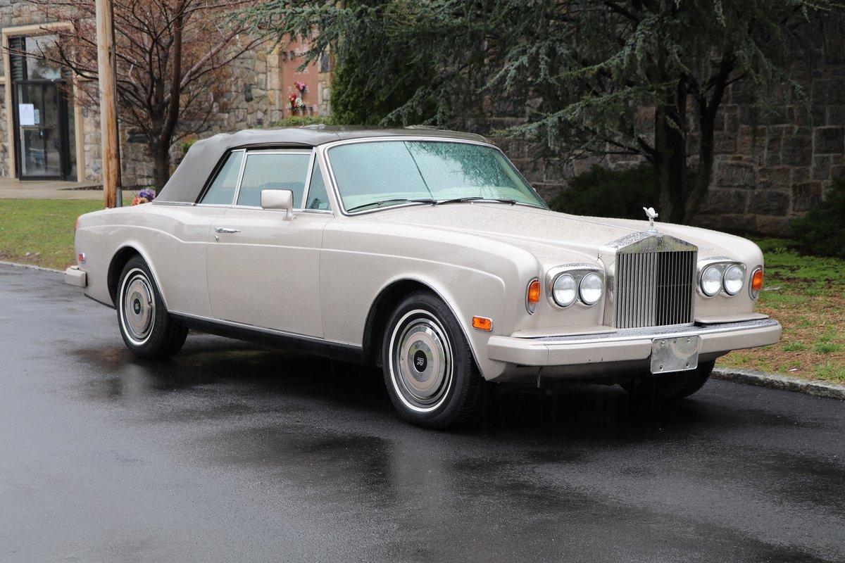 # 23239 1988 Rolls-Royce Corniche II Convertible  For Sale (picture 1 of 6)
