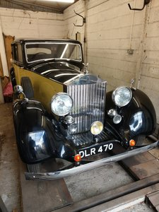 1936 Rolls Royce 25/30 Parkward Sports Saloon