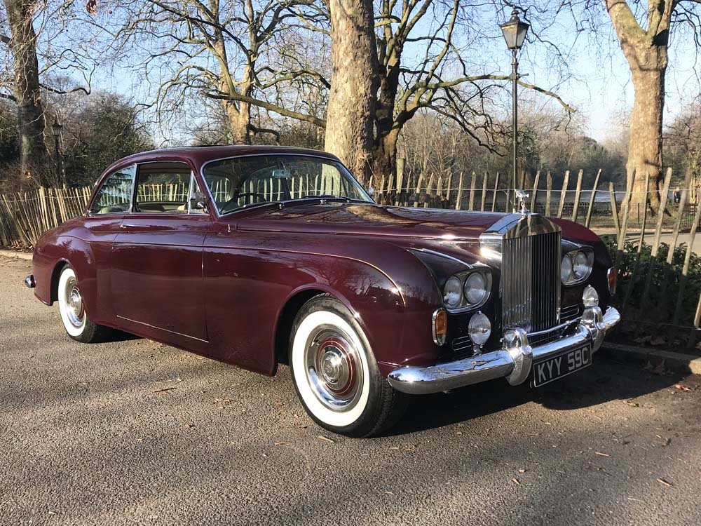 1965 Rolls-Royce Silver Cloud III 2 door by James Young For Sale (picture 1 of 24)