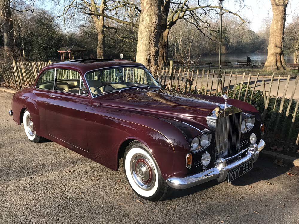 1965 Rolls-Royce Silver Cloud III 2 door by James Young For Sale (picture 11 of 24)