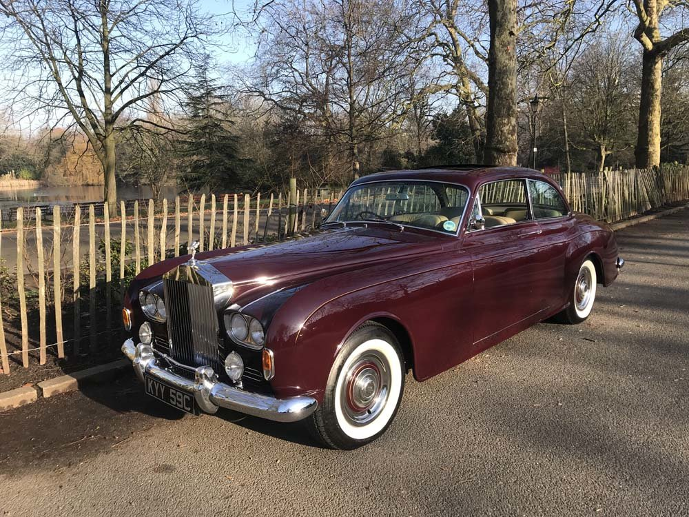 1965 Rolls-Royce Silver Cloud III 2 door by James Young For Sale (picture 12 of 24)