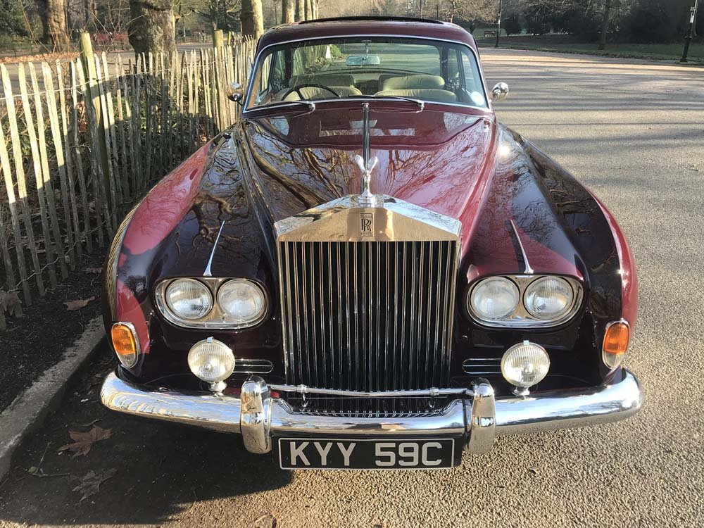 1965 Rolls-Royce Silver Cloud III 2 door by James Young For Sale (picture 16 of 24)