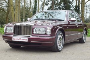 1998 R Rolls Royce Silver Seraph in Wildberry