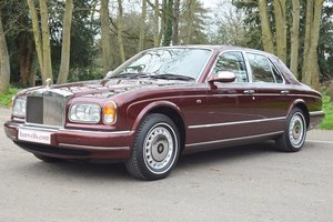 1999 S Rolls Royce Silver Seraph in beautiful Sunset Red
