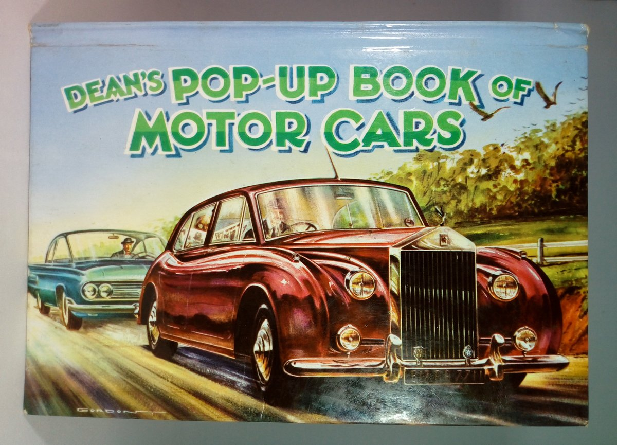 1961 Dean's Pop-UpBook of Motor Cars For Sale (picture 1 of 4)