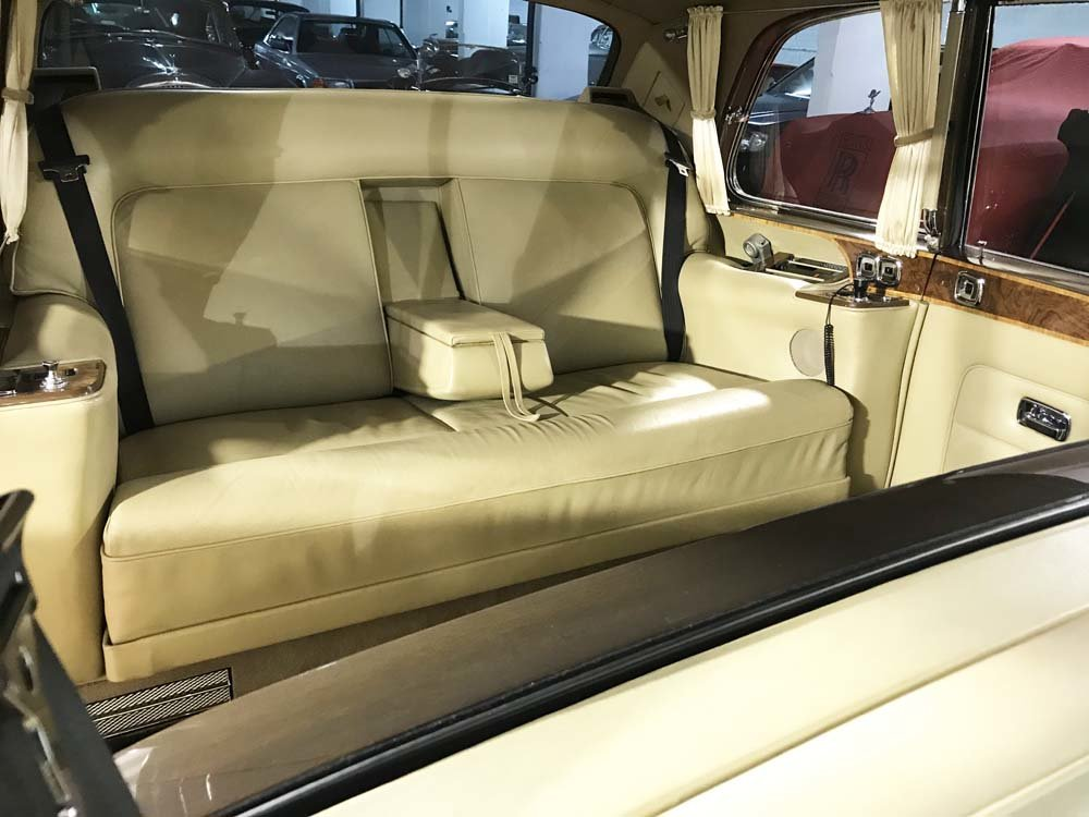 1986 Rolls-Royce Phantom VI LHD - 23.000 kms only For Sale (picture 9 of 24)