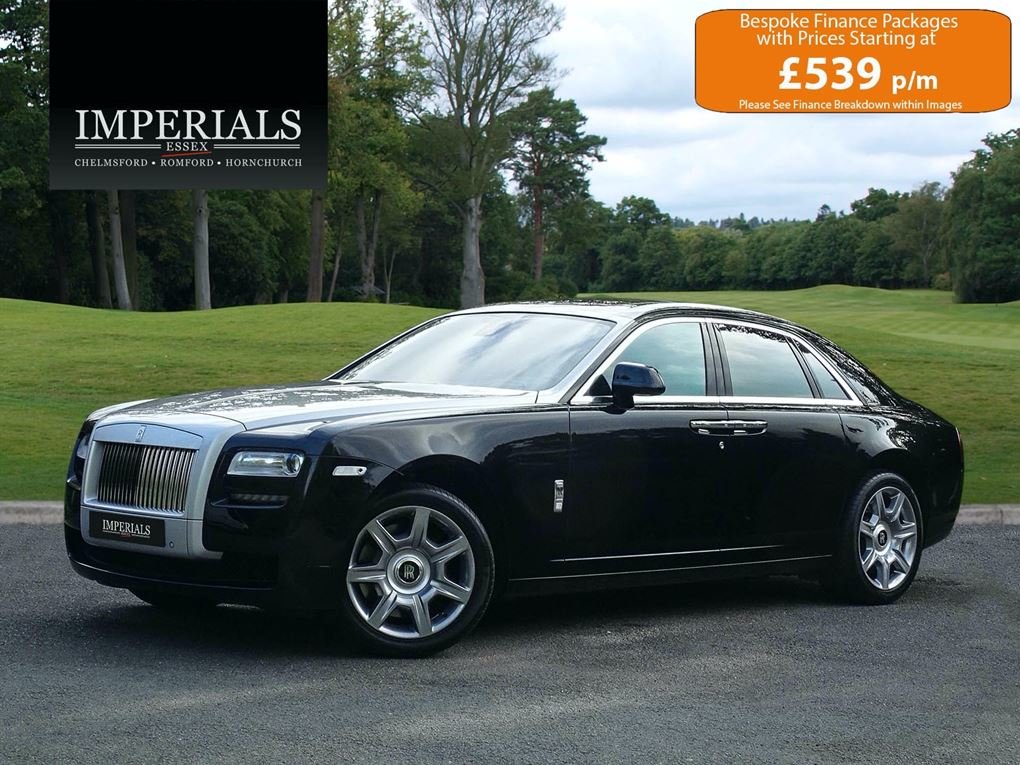 2014 ROLLS ROYCE  GHOST  V12 SALOON LHD AUTO  99,948 For Sale (picture 1 of 24)