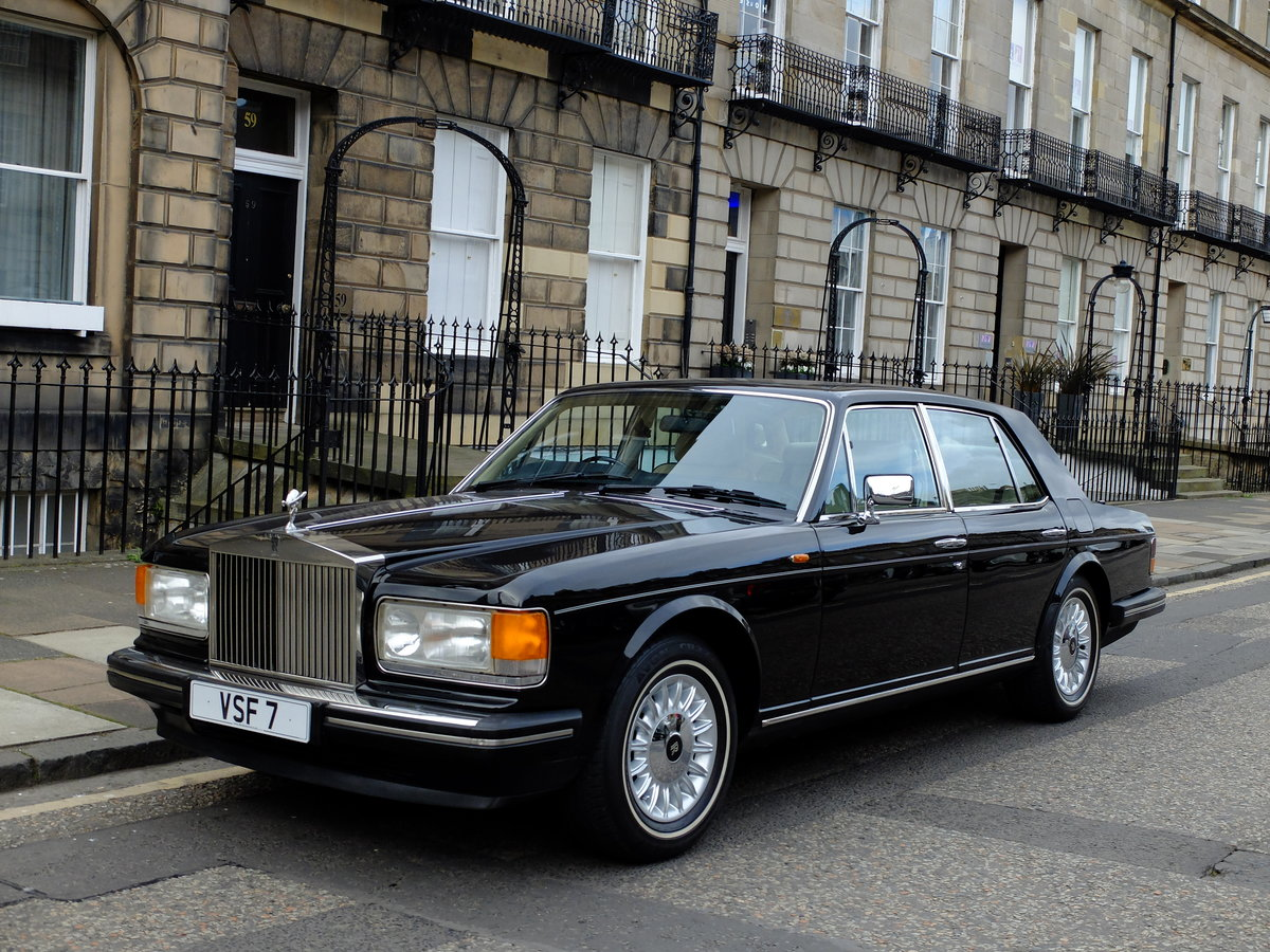 1987 ROLLS ROYCE SILVER SPIRIT - IMPECCABLE - 4IK MILES ! SOLD (picture 1 of 6)
