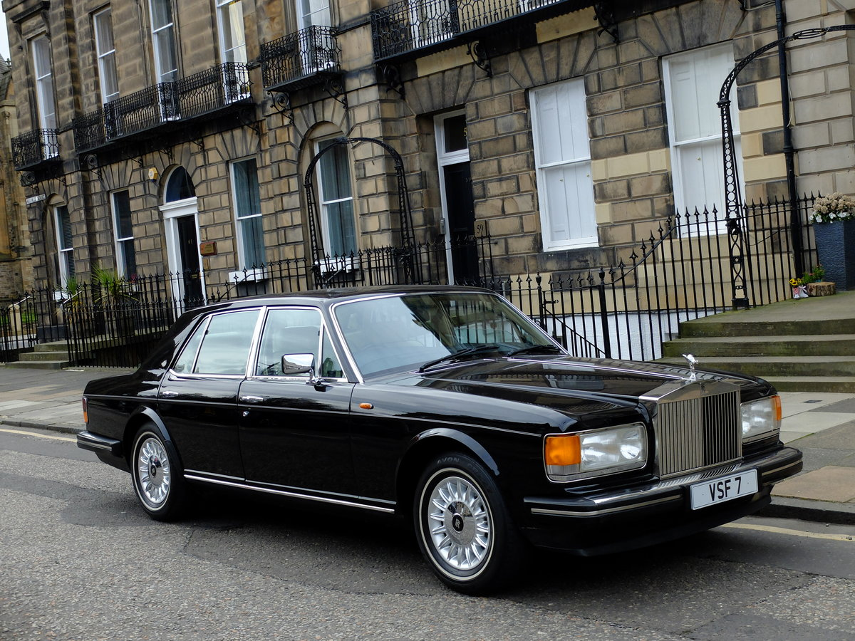 1987 ROLLS ROYCE SILVER SPIRIT - IMPECCABLE - 4IK MILES ! SOLD (picture 2 of 6)