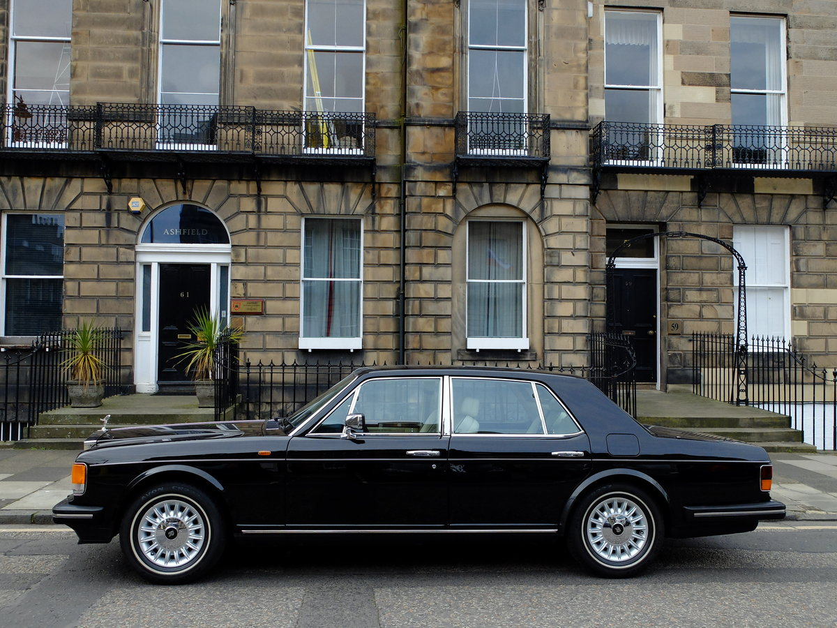 1987 ROLLS ROYCE SILVER SPIRIT - IMPECCABLE - 4IK MILES ! SOLD (picture 3 of 6)