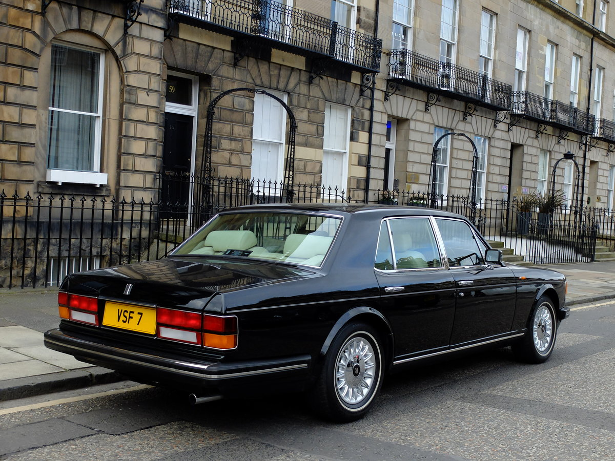 1987 ROLLS ROYCE SILVER SPIRIT - IMPECCABLE - 4IK MILES ! SOLD (picture 4 of 6)