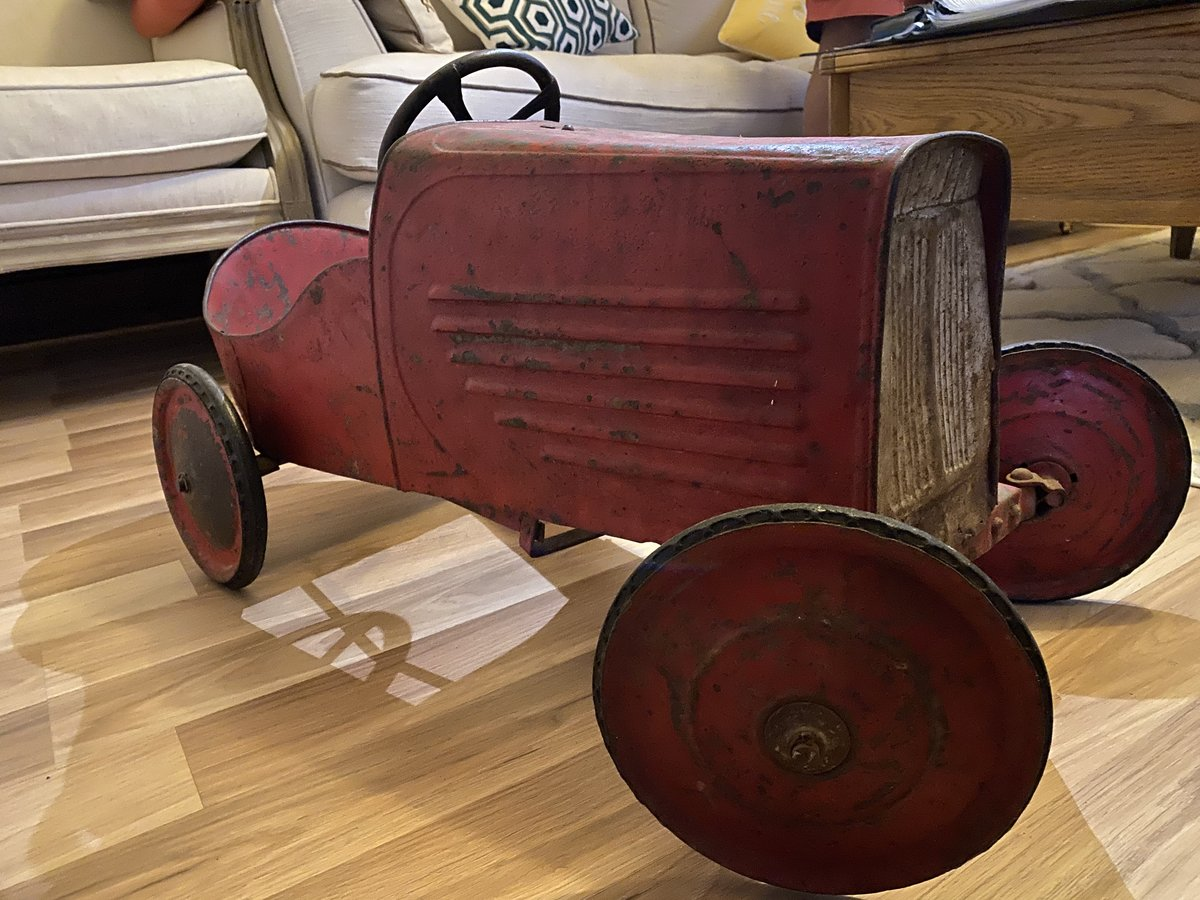 Classic Original 1920s Metal Pedal Car For Sale Car And Classic