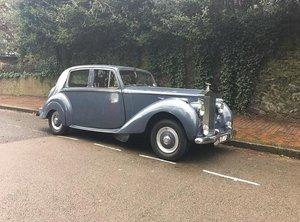 1952 Rolls Royce Silver Dawn   Special RR Demonstrator
