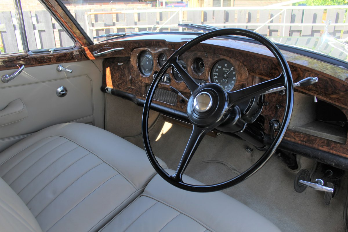 1962 Rolls Royce Silver Cloud II SCT100, Full Re-Trim, 20k Spent For Sale (picture 7 of 20)