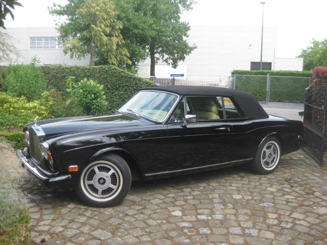Rolls Royce Corniche II Cabriolet  1981 Ex Hollywood Movie For Sale (picture 1 of 6)