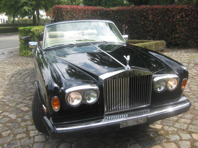 Rolls Royce Corniche II Cabriolet  1981 Ex Hollywood Movie For Sale (picture 2 of 6)