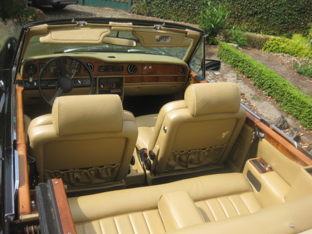 Rolls Royce Corniche II Cabriolet  1981 Ex Hollywood Movie For Sale (picture 6 of 6)