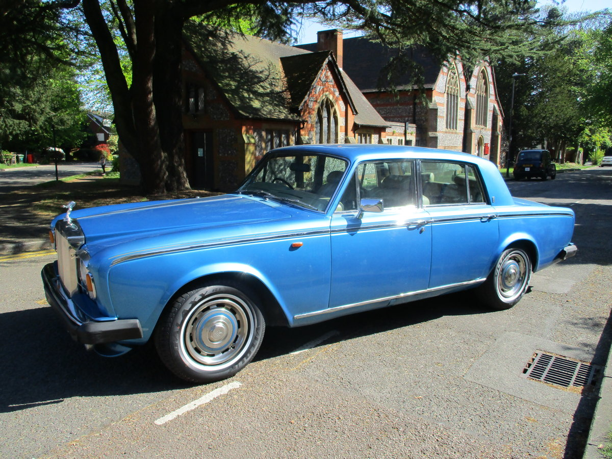 1980 ROLLS ROYCE SILVER SHADOW 2 1979 V For Sale (picture 1 of 21)
