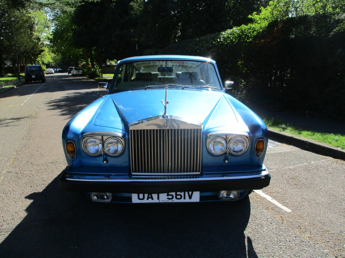 1980 ROLLS ROYCE SILVER SHADOW 2 1979 V For Sale (picture 6 of 21)