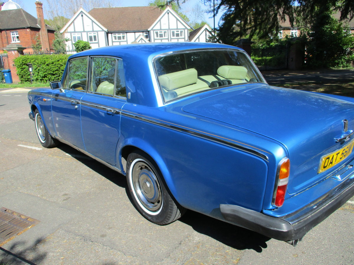 1980 ROLLS ROYCE SILVER SHADOW 2 1979 V For Sale (picture 7 of 21)