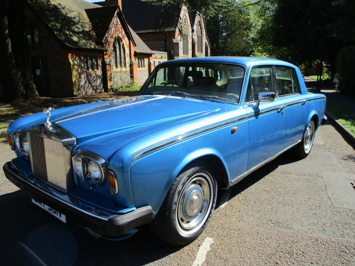 1980 ROLLS ROYCE SILVER SHADOW 2 1979 V For Sale (picture 14 of 21)