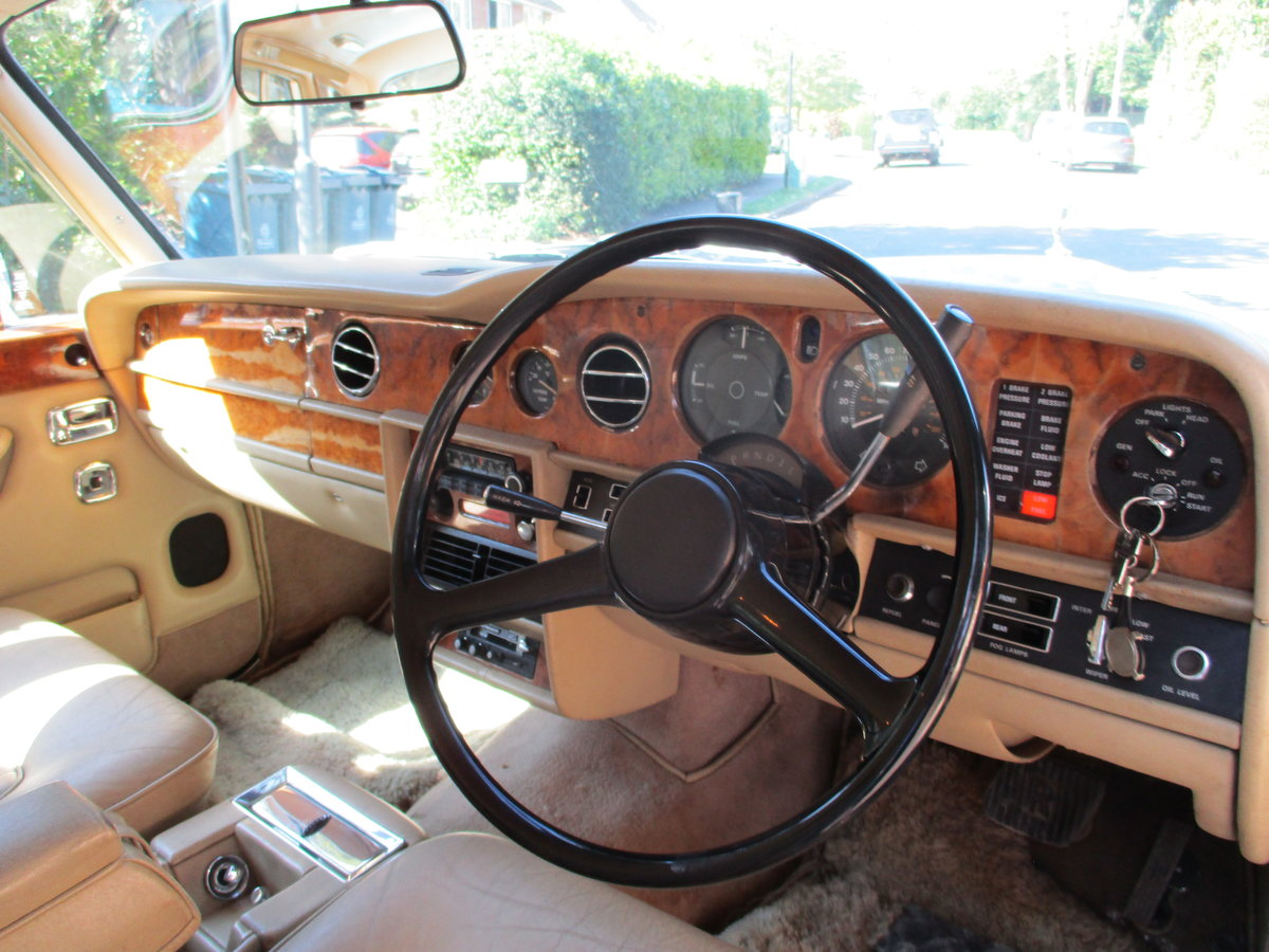 1980 ROLLS ROYCE SILVER SHADOW 2 1979 V For Sale (picture 16 of 21)