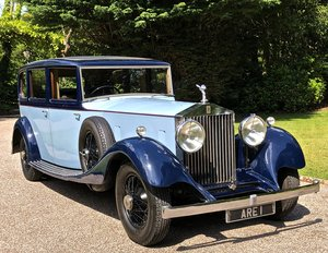 Picture of 1934 ROLLS ROYCE PHANTOM II        PARK WARD LIMOUSINE For Sale