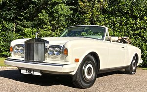 1988 ROLLS ROYCE CORNICHE CONVERTIBLE MKII      LHD For Sale