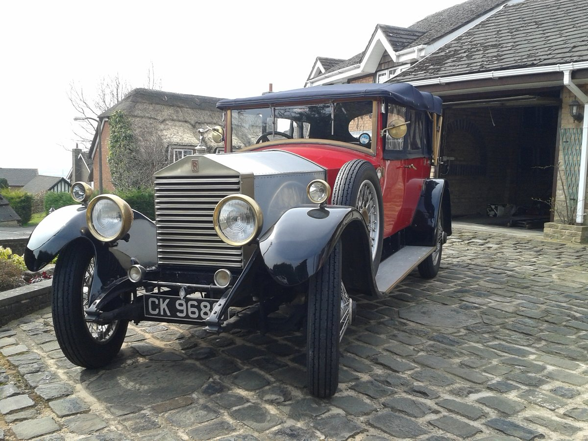 1928 Rolls Royce 20hp Cabriolet.     GXL65 For Sale (picture 1 of 6)