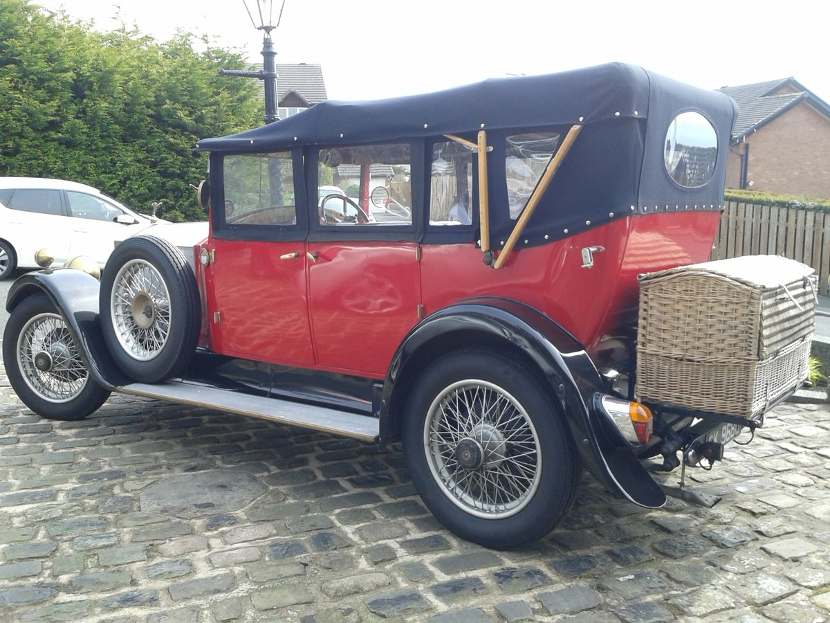 1928 Rolls Royce 20hp Cabriolet.     GXL65 For Sale (picture 2 of 6)