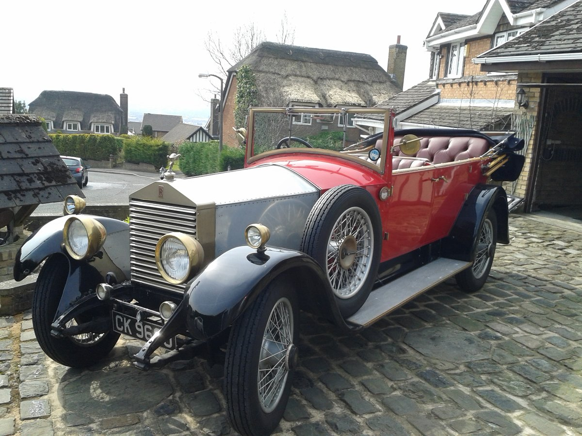 1928 Rolls Royce 20hp Cabriolet.     GXL65 For Sale (picture 3 of 6)