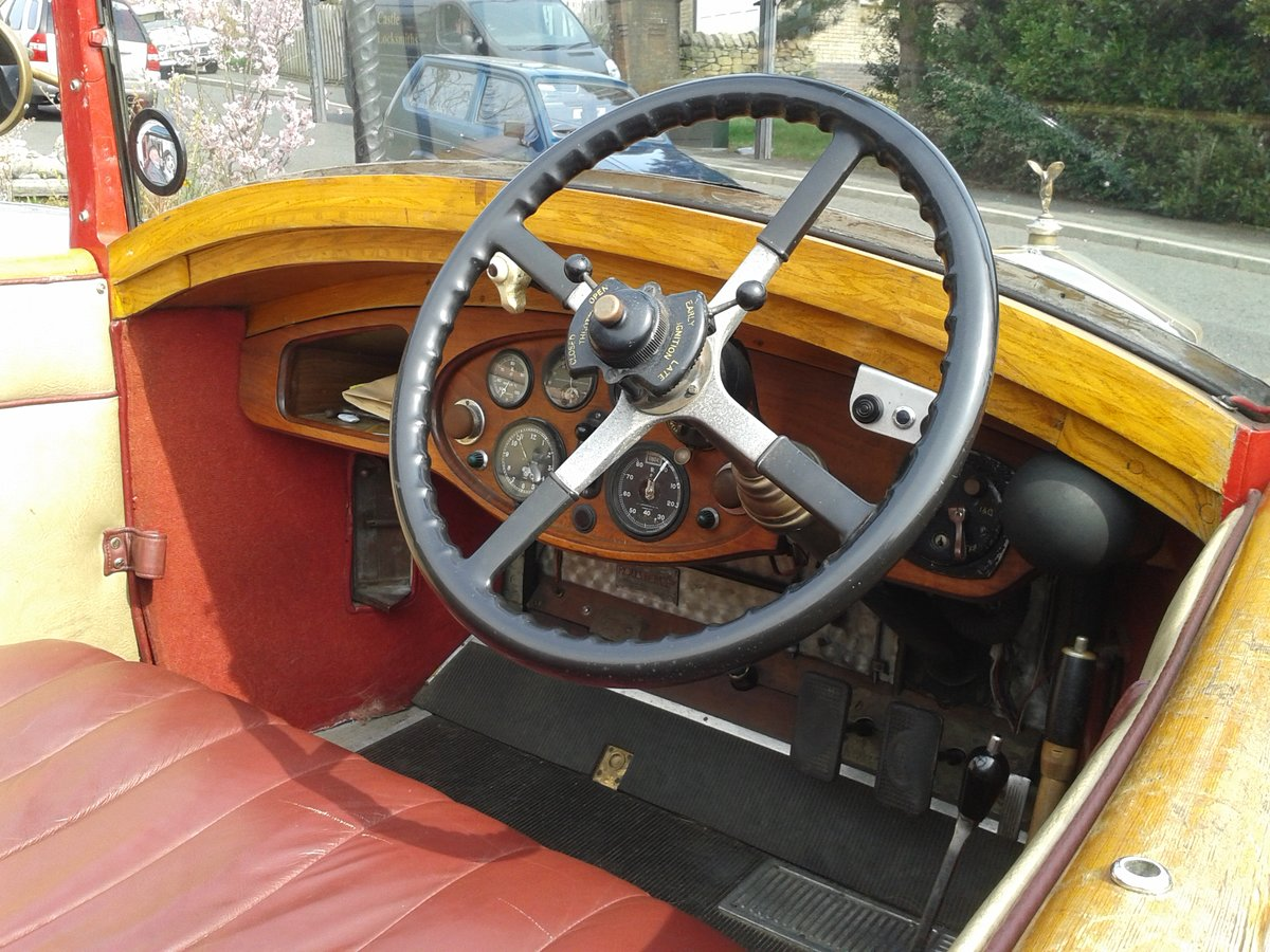 1928 Rolls Royce 20hp Cabriolet.     GXL65 For Sale (picture 4 of 6)