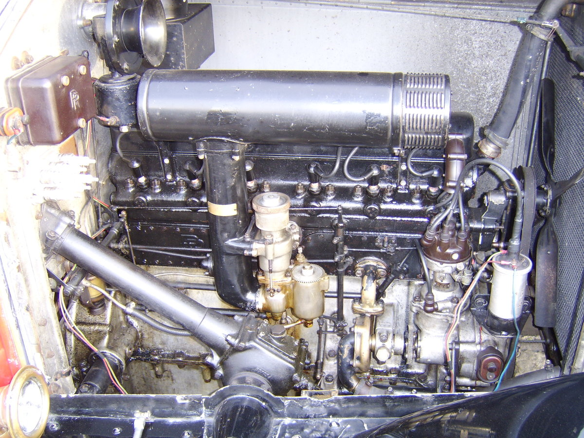 1928 Rolls Royce 20hp Cabriolet.     GXL65 For Sale (picture 6 of 6)