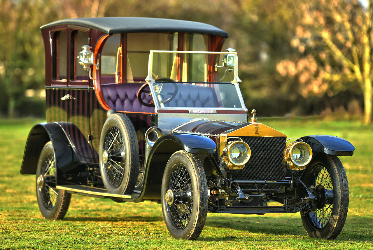 1911 Rolls Royce Silver Ghost open drive Limousine For Sale (picture 1 of 6)