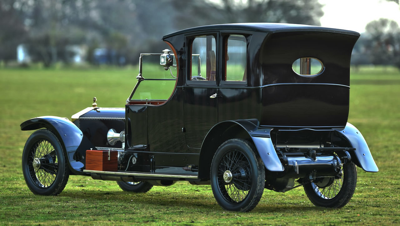 1911 Rolls Royce Silver Ghost open drive Limousine For Sale (picture 3 of 6)