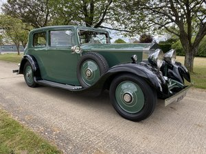 1934 Rolls Royce 20/25 HP 2 Door Sports Saloon