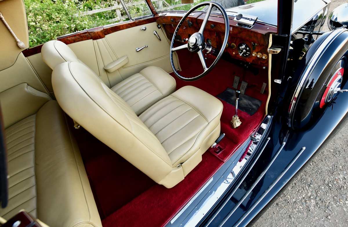 1938 Rolls Royce Wraith Gurney Nutting Sedanca Coupe For Sale (picture 4 of 6)
