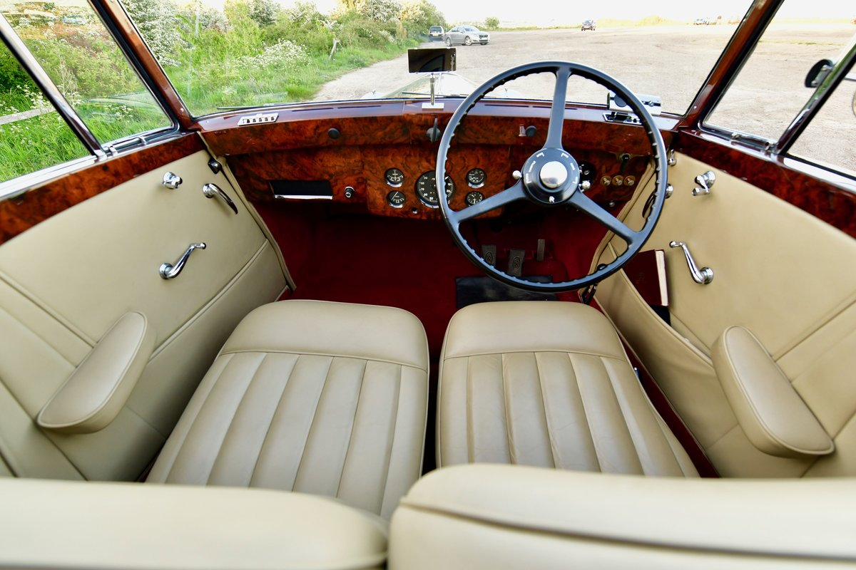 1938 Rolls Royce Wraith Gurney Nutting Sedanca Coupe For Sale (picture 5 of 6)