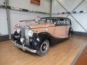 1949 Rolls Royce Silver Wraith by Hooper for restauration