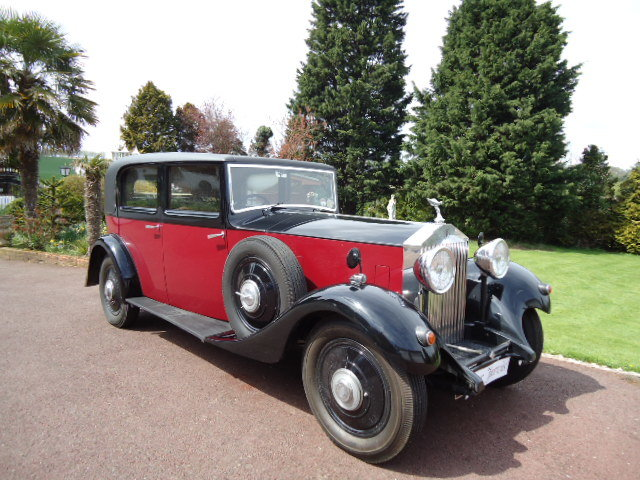 1934 Rolls Royce 20/25  By Park Ward For Sale (picture 1 of 6)