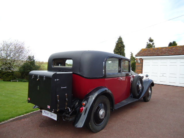 1934 Rolls Royce 20/25  By Park Ward For Sale (picture 6 of 6)