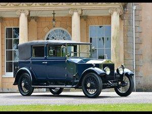 1921 ROLLS ROYCE TWENTY GOSHAWK II SEDANCA CABRIOLET